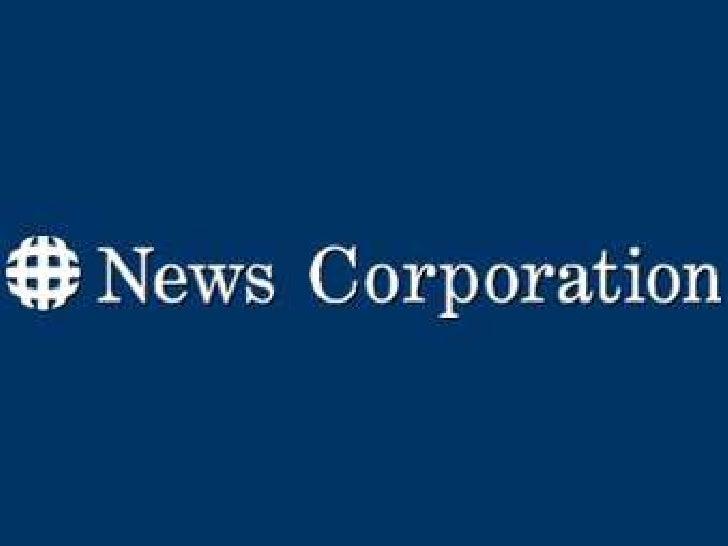 Políticas • Es una de las mejores empresa de medios de comunicación   mundiales. • Tienen más de 64.000 personas de todo e...