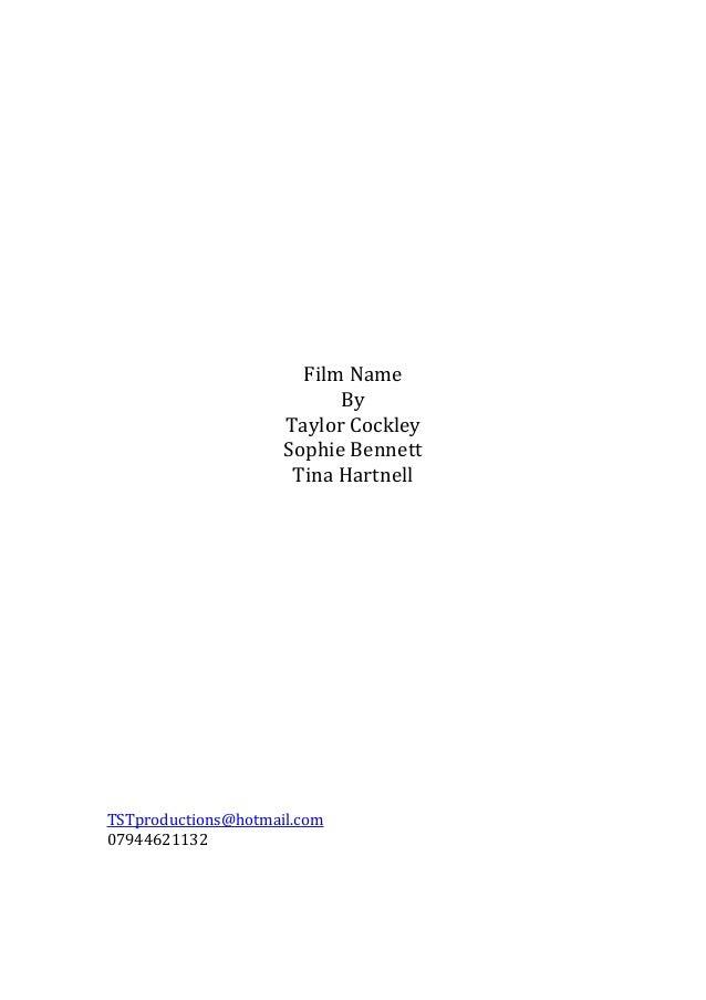 New script