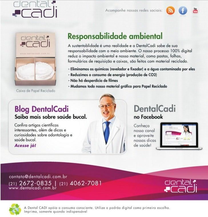Dental CADI - Sustentabilidade