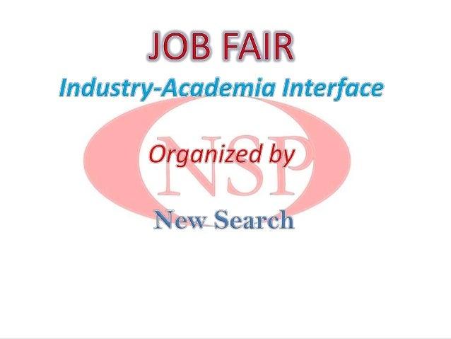 New search job fair 3rd
