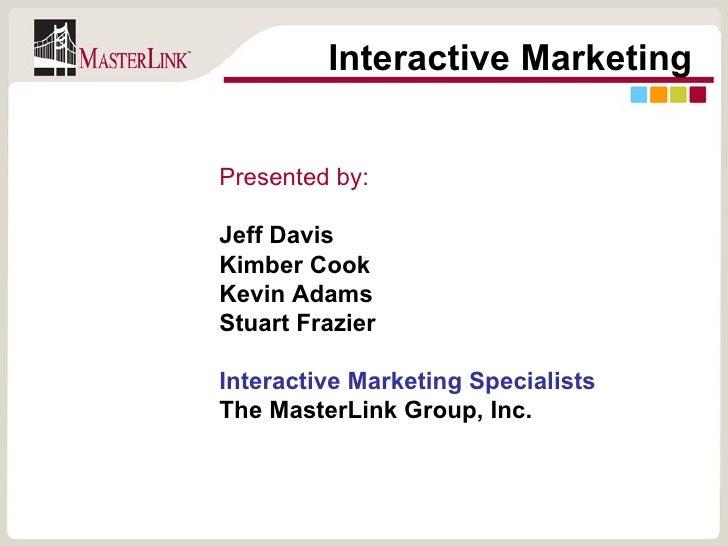 MasterLink Seminar