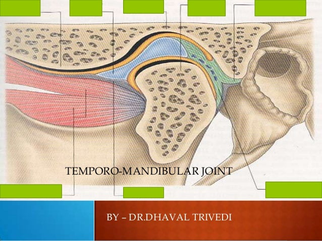 BY – DR.DHAVAL TRIVEDI TEMPORO-MANDIBULAR JOINT