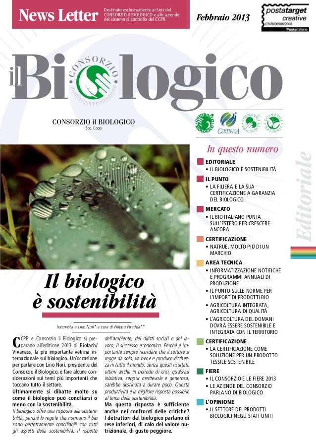 Newsletter Il Biologico inverno 2013