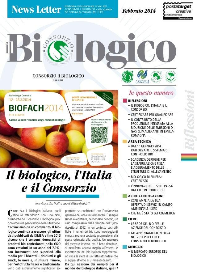Newsletter Il Biologio febbraio 2014