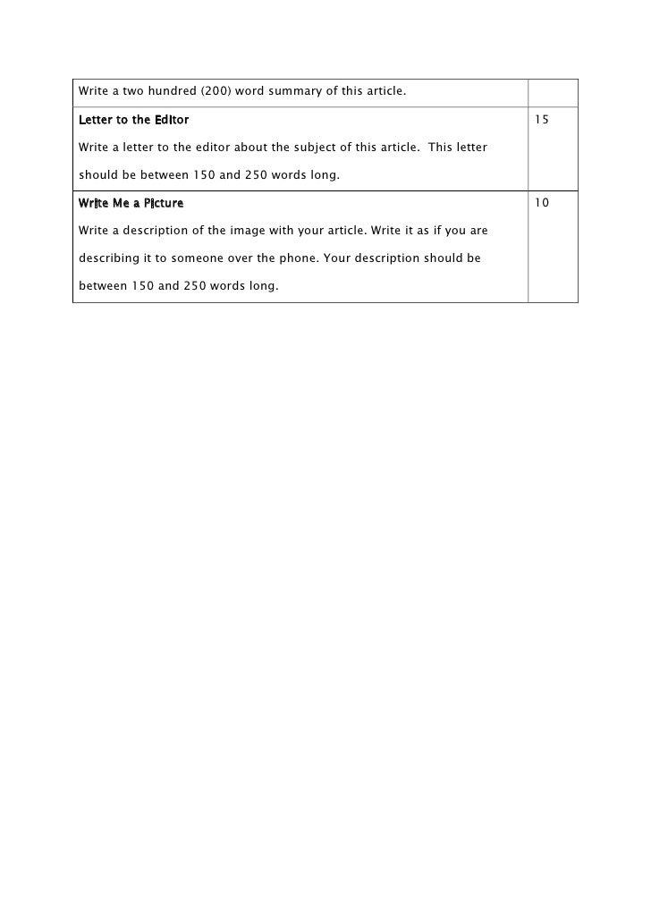 Article Summary Worksheet images – Article Summary Worksheet