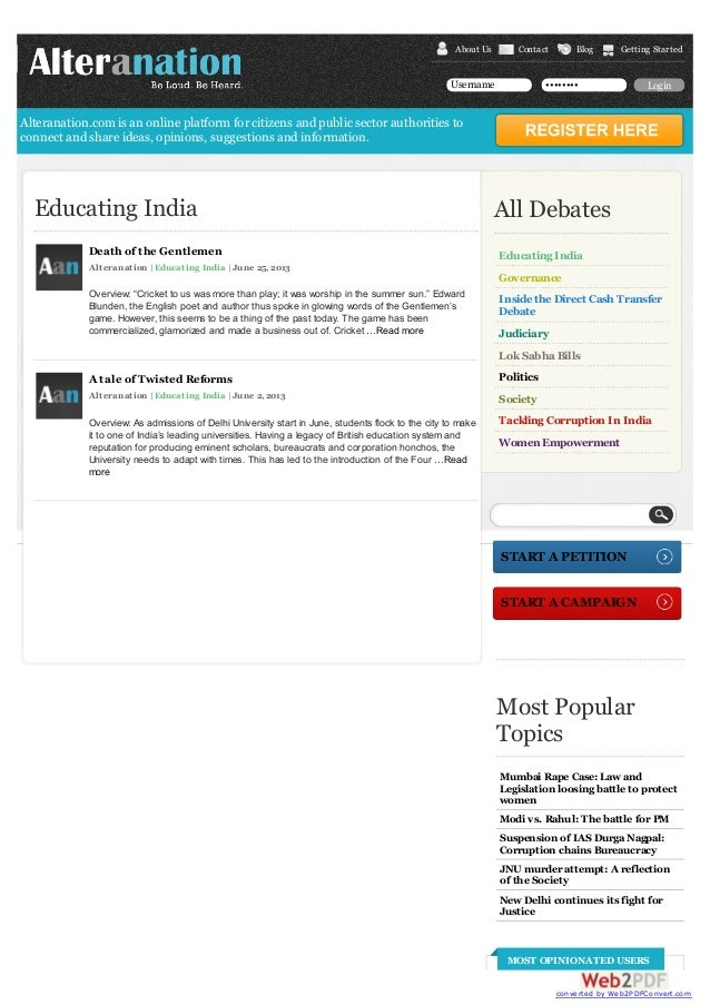 News for education in india