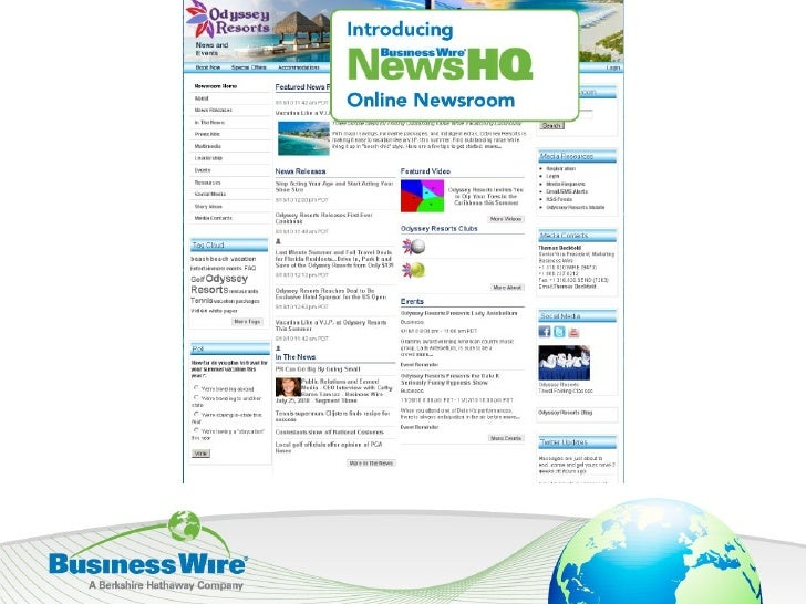 NewsHQ, from BusinessWire