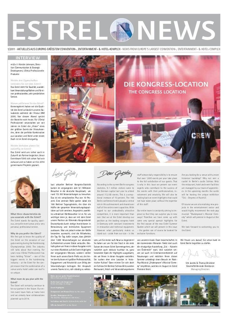 ESTREL NEWS 01/2011