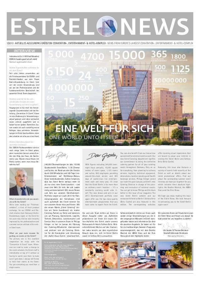 Estrel News 01/2013