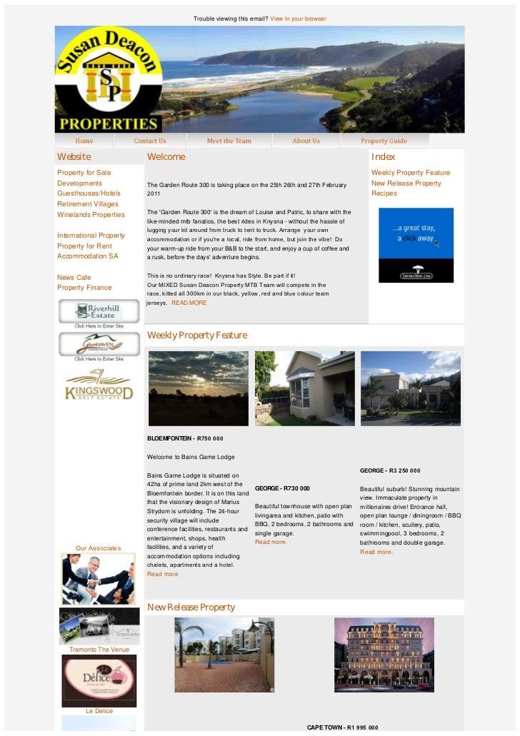 Susan Deacon Property Group feature property news