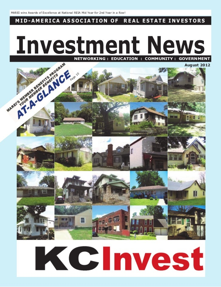 The Investment News:  August 2012
