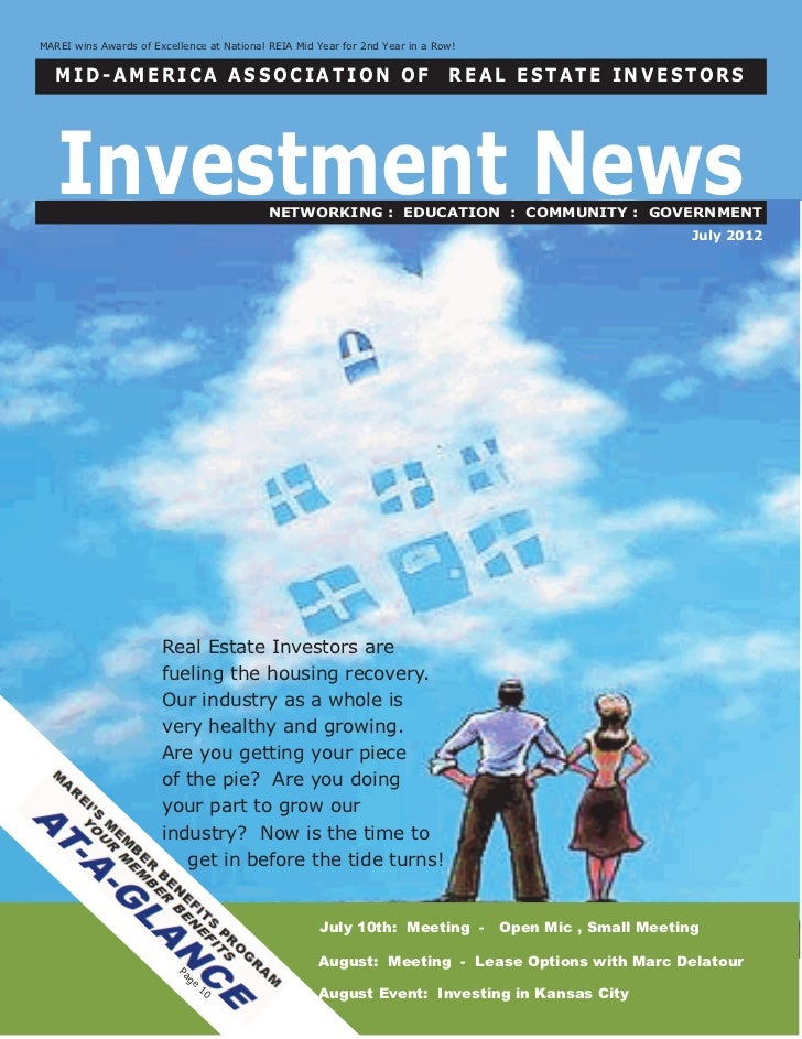 The Investment News:  July 2012