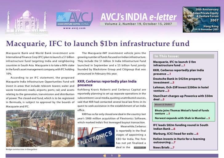 AVCJ - News Letter Oct 15 2007