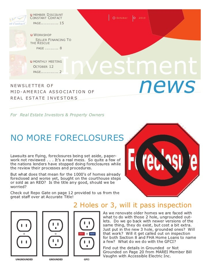 The Investment News:  October 2010
