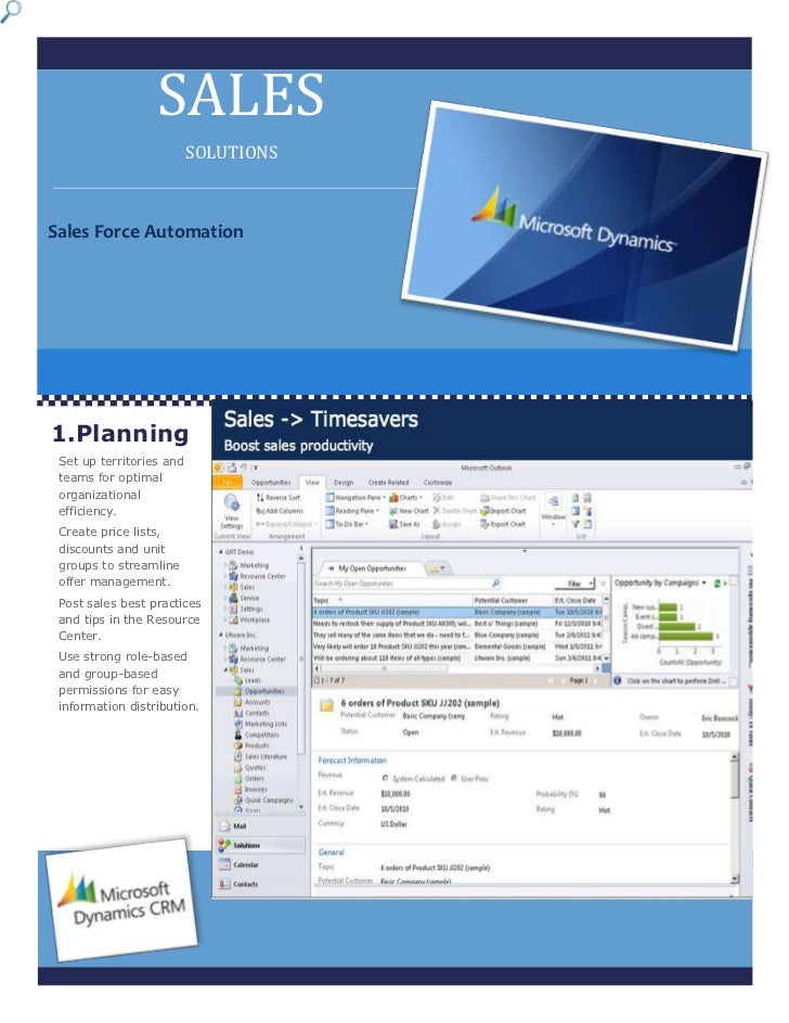 3727451757680Sales Force AutomationOptimize your sales efforts with the familiar and intelligent features of Microsoft Dyn...