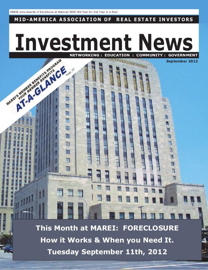 Newsletter   september 2012