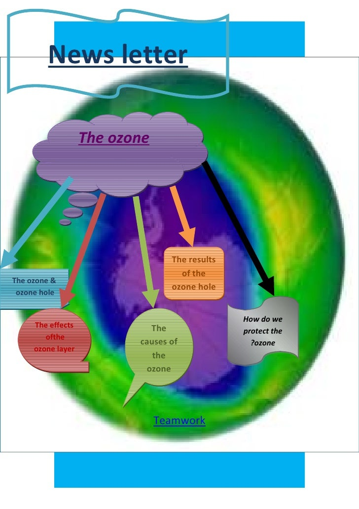 News letter                   The ozone                                 The results                                   of t...