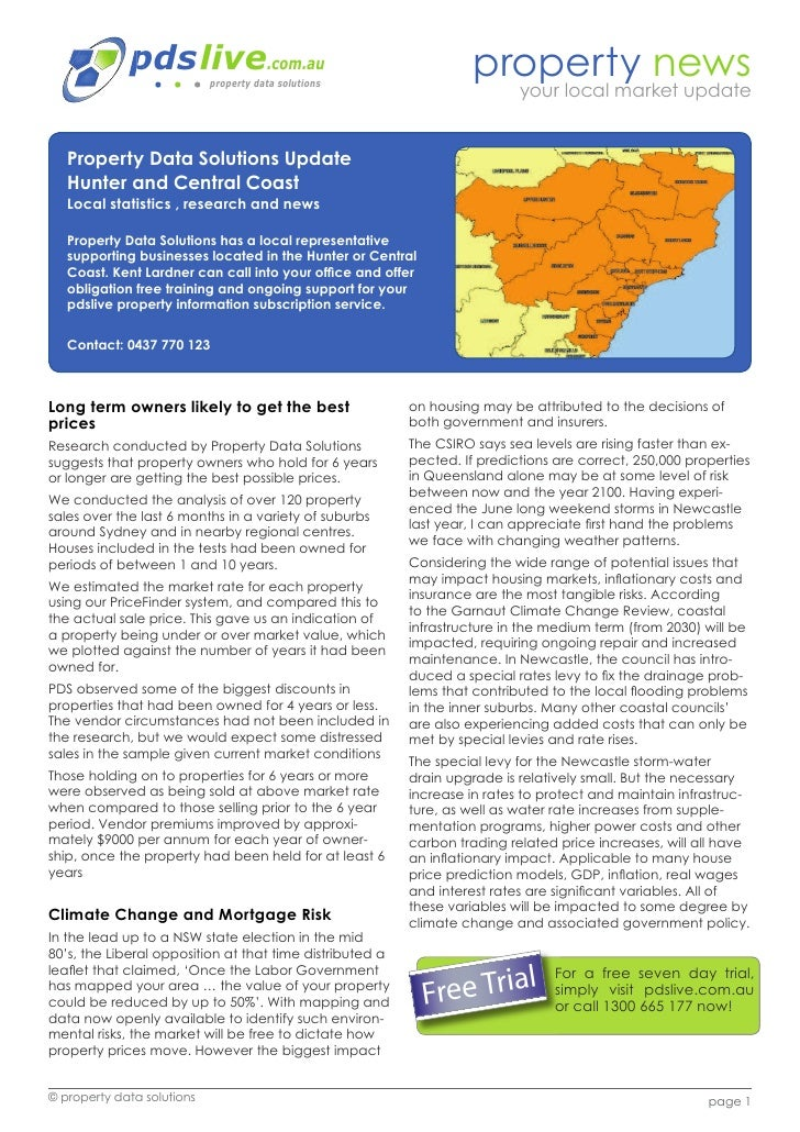 Hunter and Central Coast Newsletter