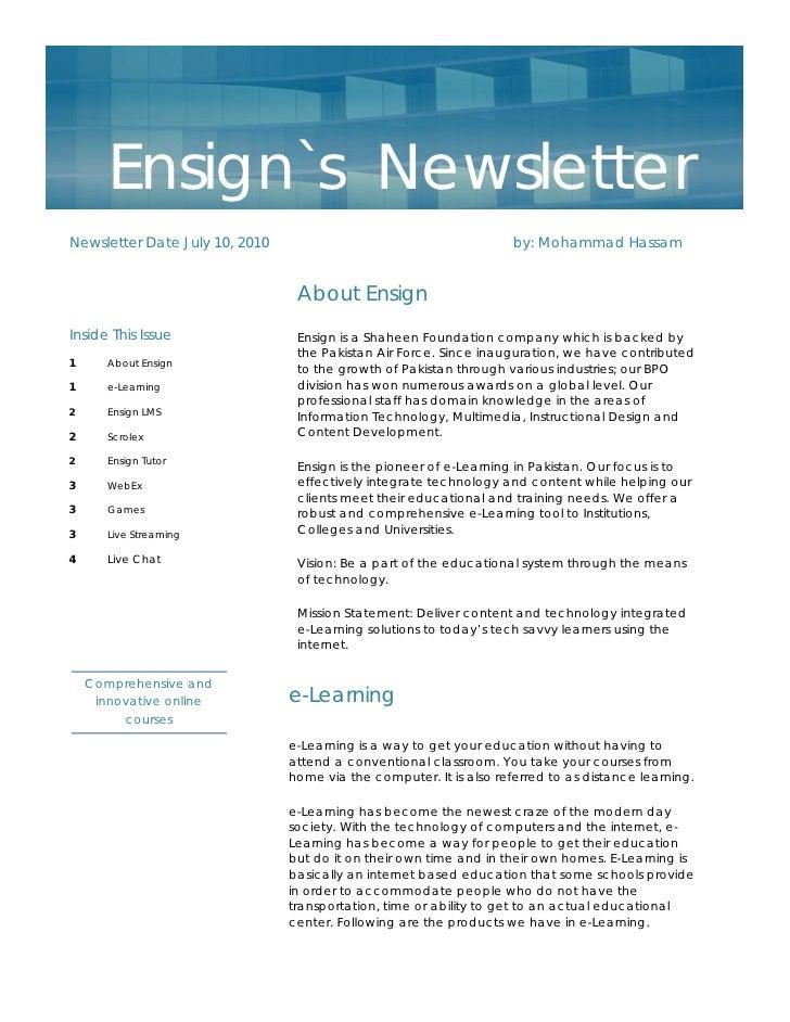 News Letter 2010