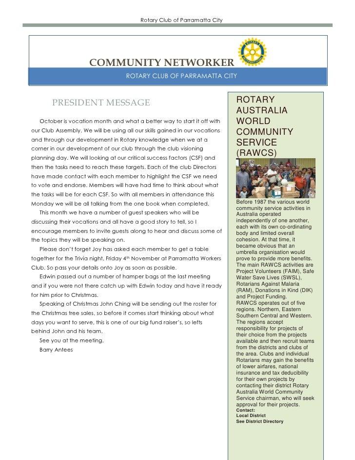 Newsletter  10 10-2011