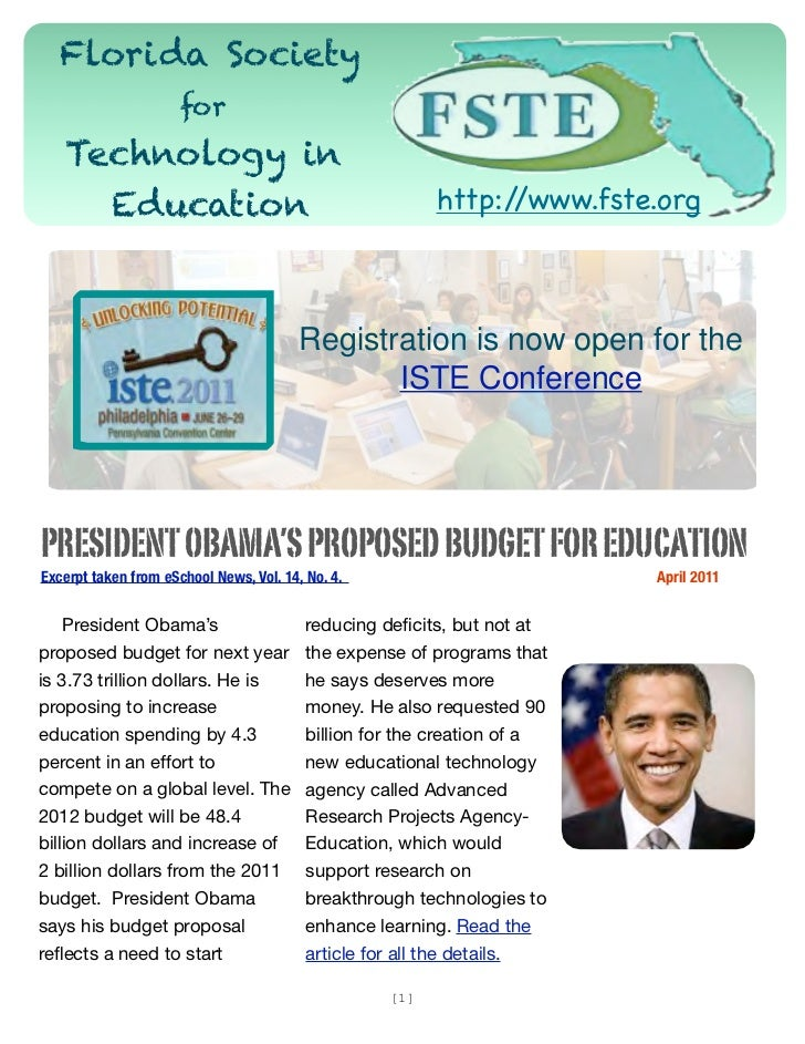 Florida Society                      for   Technology in     Education                                                    ...