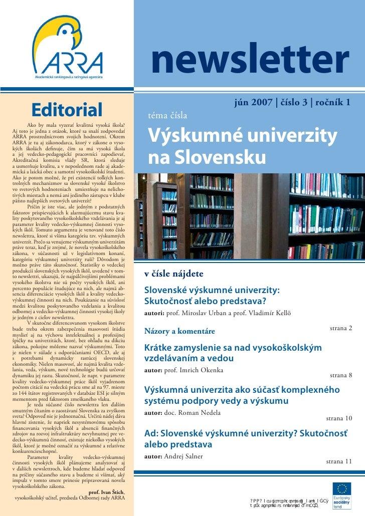 Newsletter 2007 03