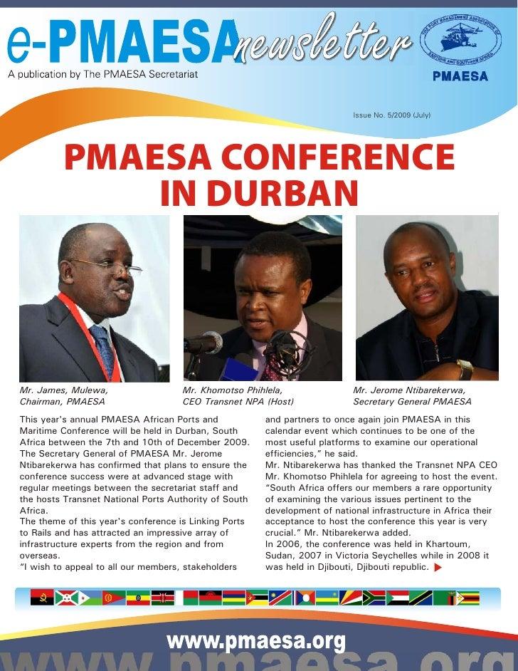 e-PMAESA Newsletter 23