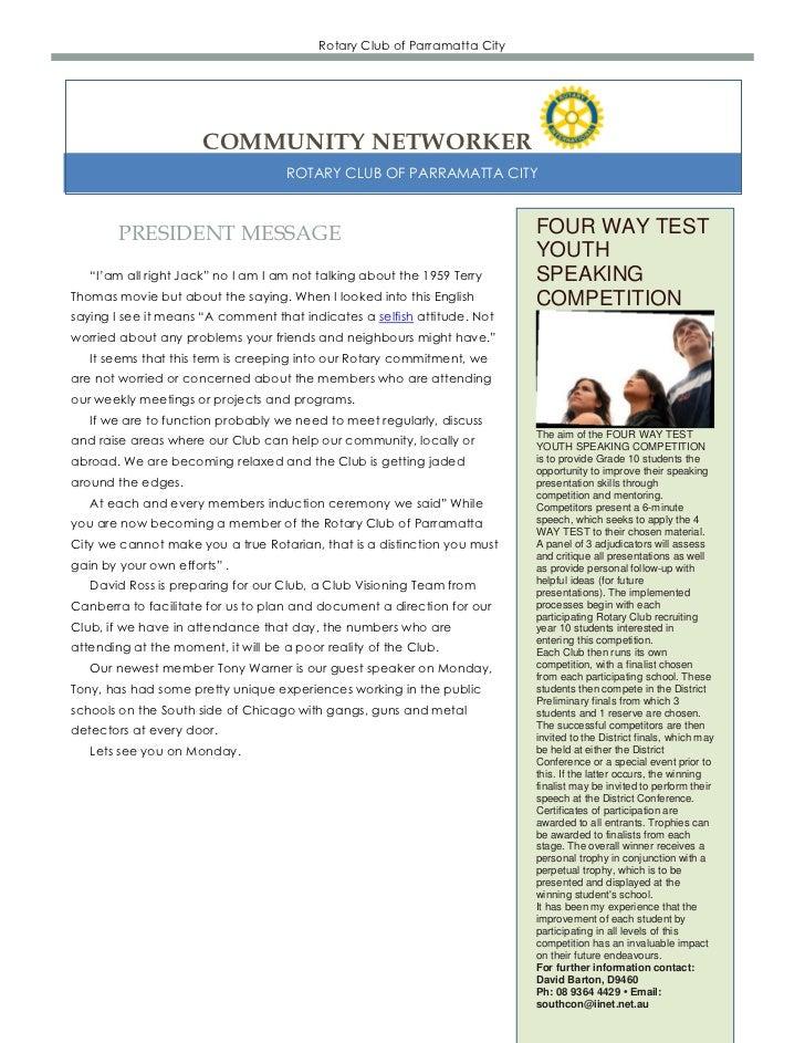 Newsletter 25 07-2011