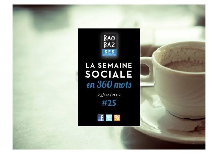 Baobaz SES - La semaine sociale 230412