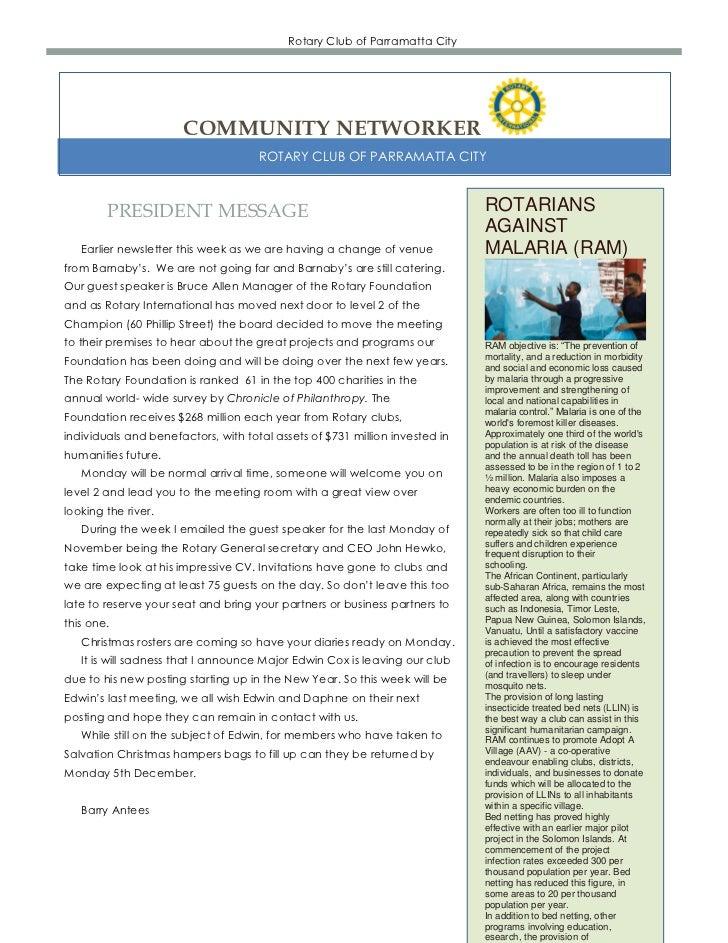 Newsletter  4 11-2011