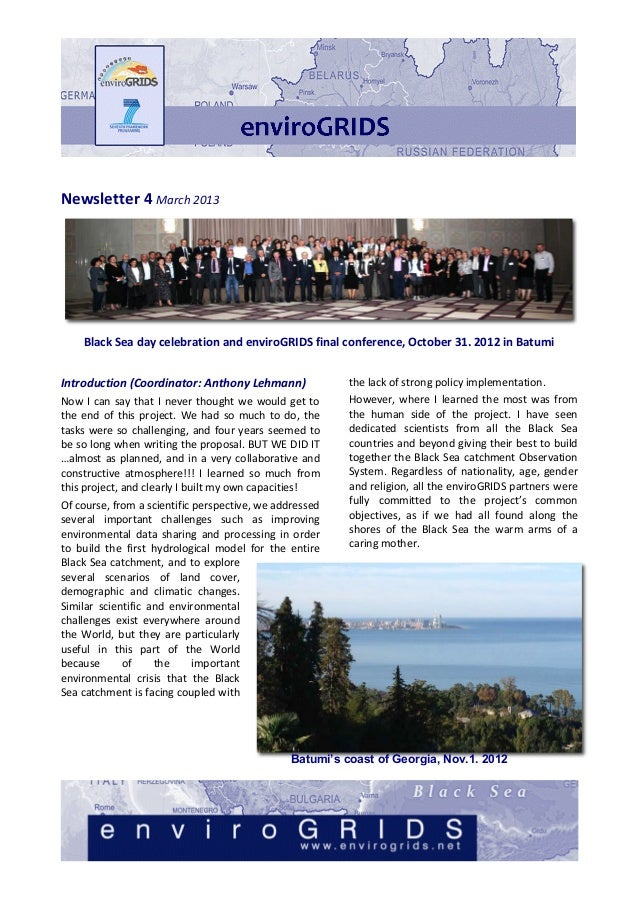 Newsletter	  4	  March	  2013	                                                                                            ...