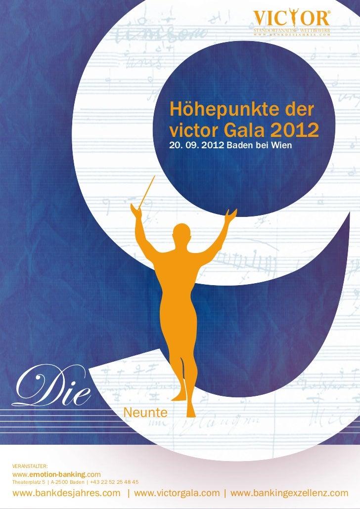 Höhepunkte der                                                     victor Gala 2012                                       ...