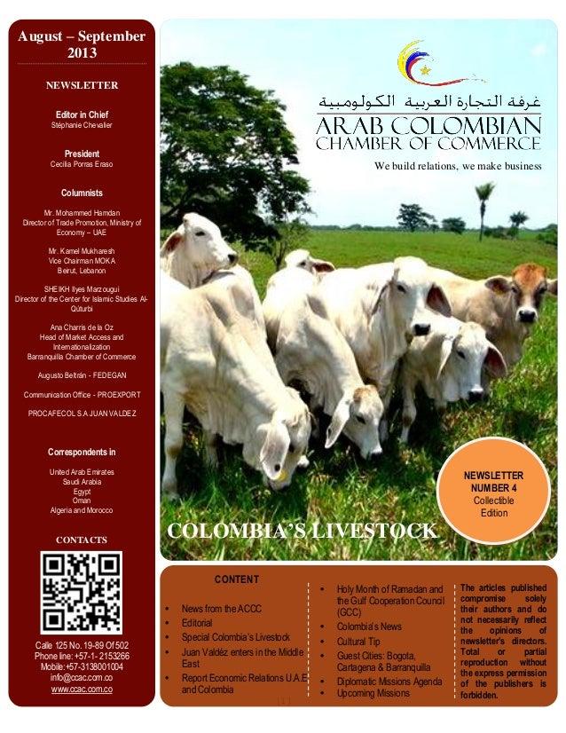 Newsletter August -  September 2013 English version.