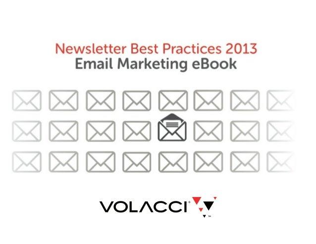 Newsletter Best Practices 2013: Email Marketing eBook