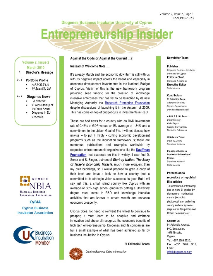 Newsletter ei vol2_issue2_march 2010_final