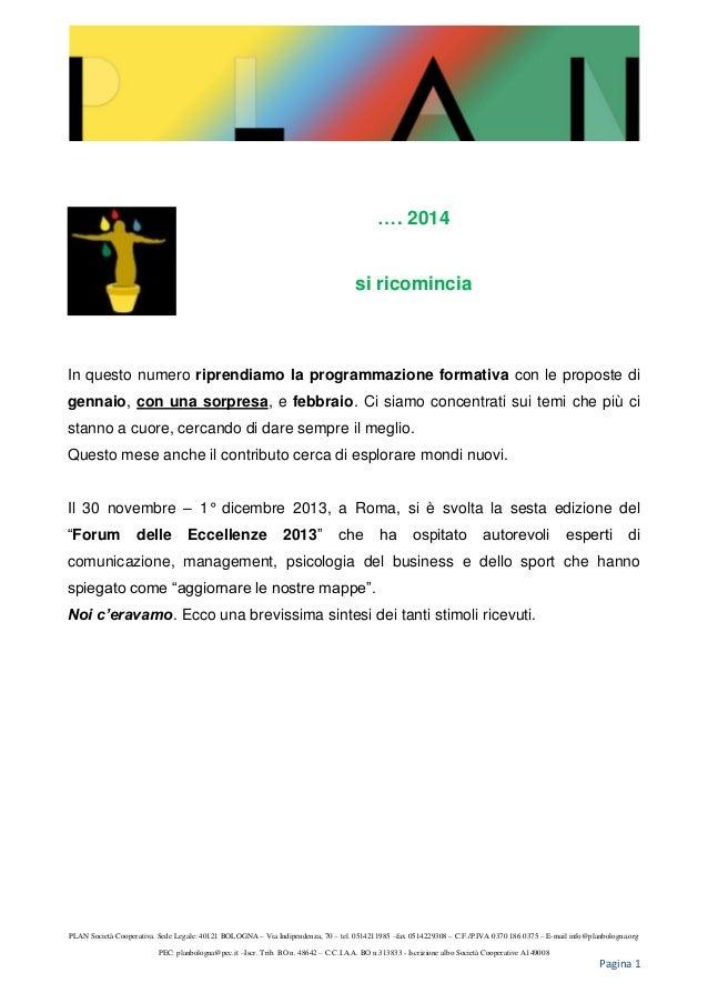 Newsletter febbraio 2014