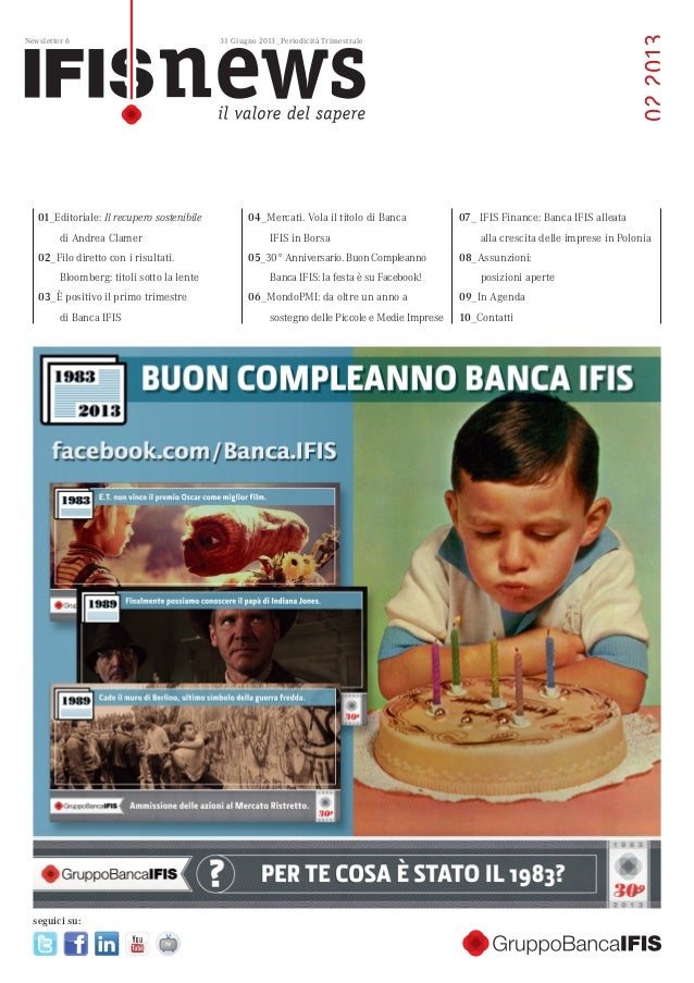 Newsletter Gruppo Banca IFIS 6