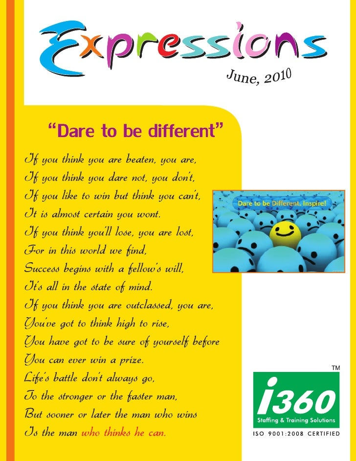 I360 Newsletter - Expressions  june
