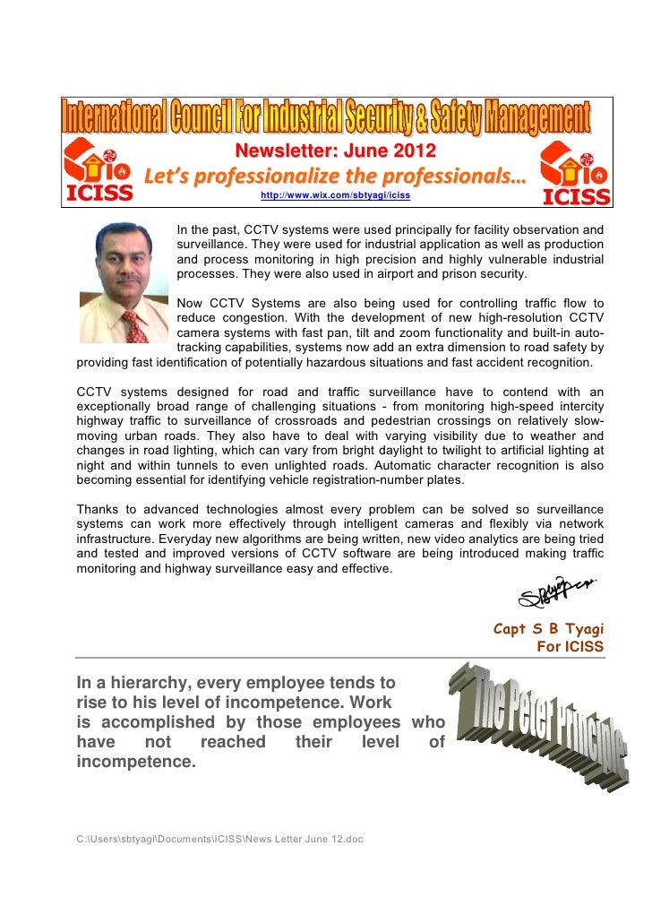 Newsletter: June 2012             Let's professionalize the professionals…                                   http://www.wi...