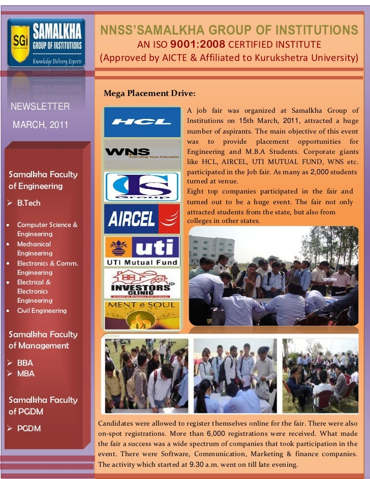 NNSS'SAMALKHA GROUP OF INSTITUTIONS                               AN ISO 9001:2008 CERTIFIED INSTITUTE                    ...