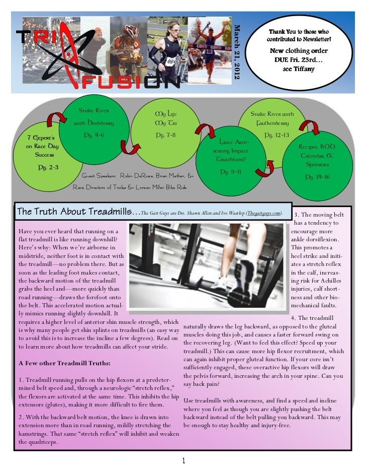 Newsletter March '12