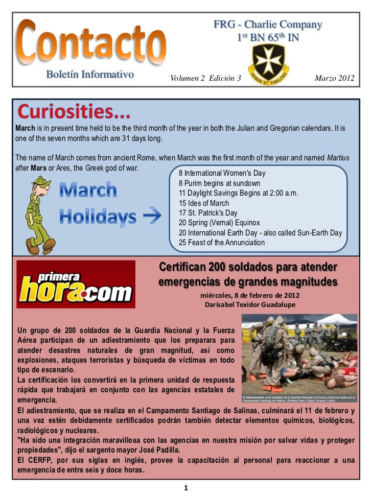 Newsletter March2012