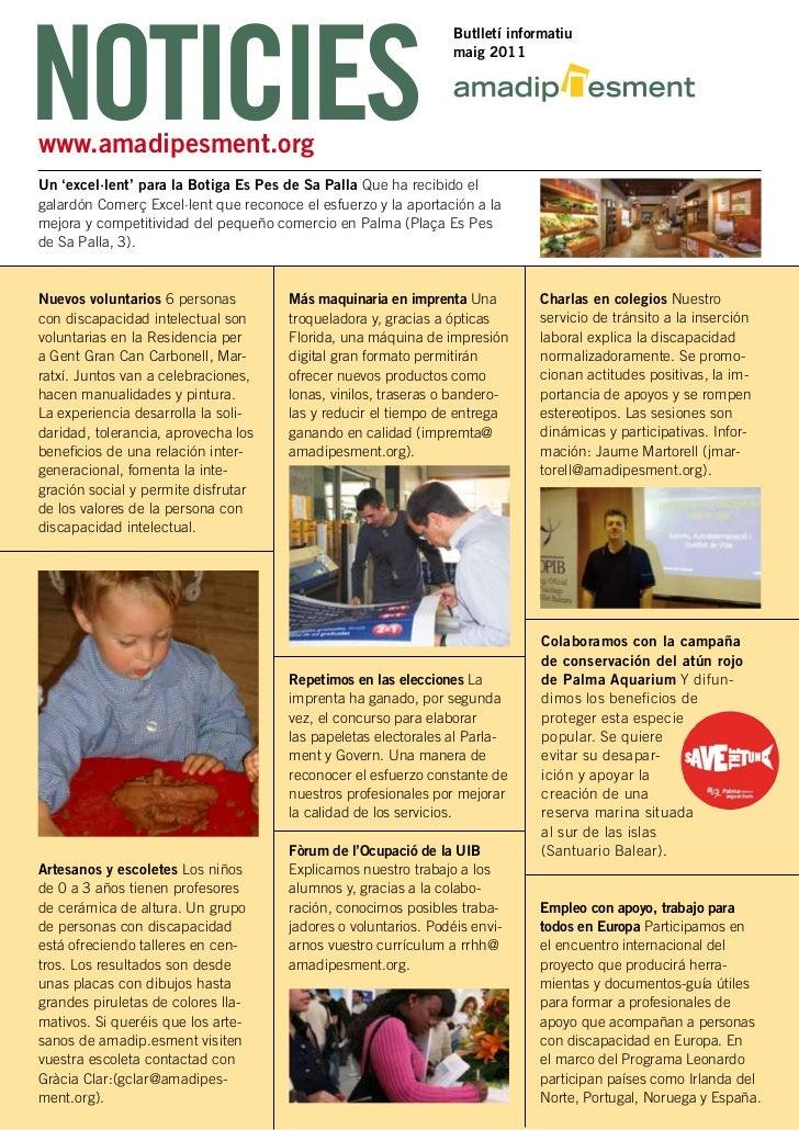 NOTICIES                                                                  Butlletí informatiu                             ...