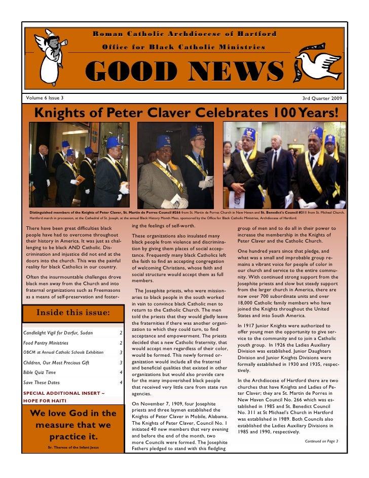 Office of Black Catholic Ministries - Newsletter