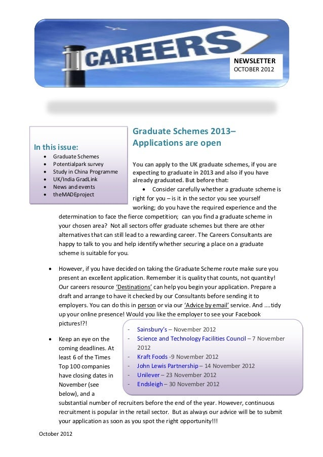 NEWSLETTER                                                                               OCTOBER 2012                     ...