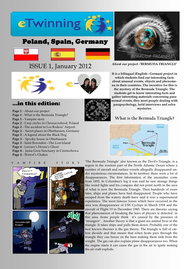 Poland, Spain, Germany                                                                     About our project -'BERMUDA TRI...