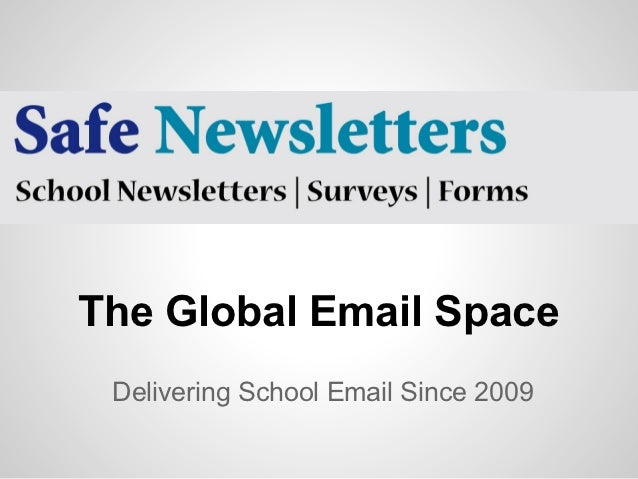 The Global Email Space Delivering School Email Since 2009
