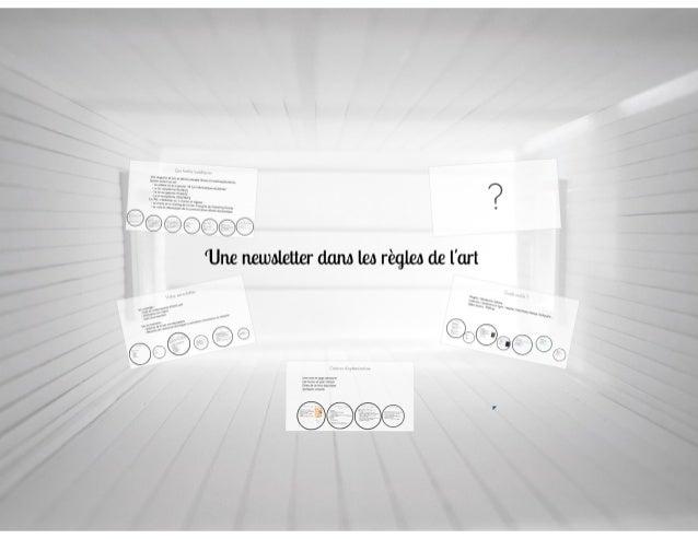 """ATELIER ENP """"Réussir sa Newsletter"""" - 18/11/2013"""