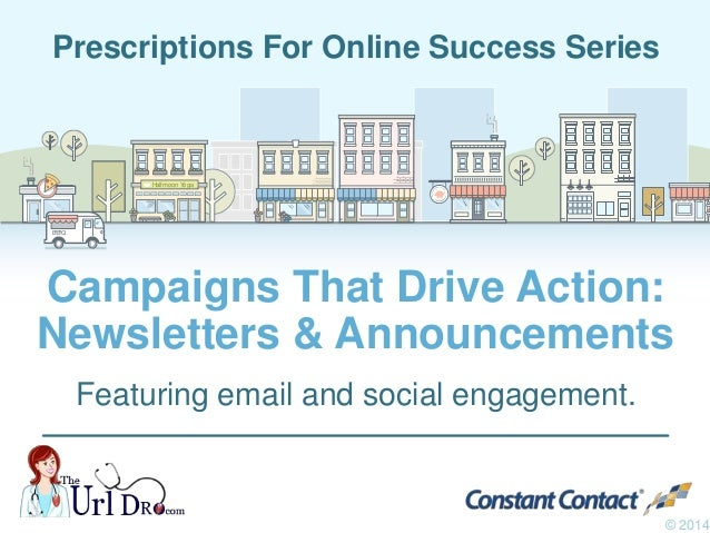 How to Use Email Newsletters & Announcements to Drive Action