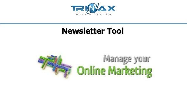 Newsletter tool